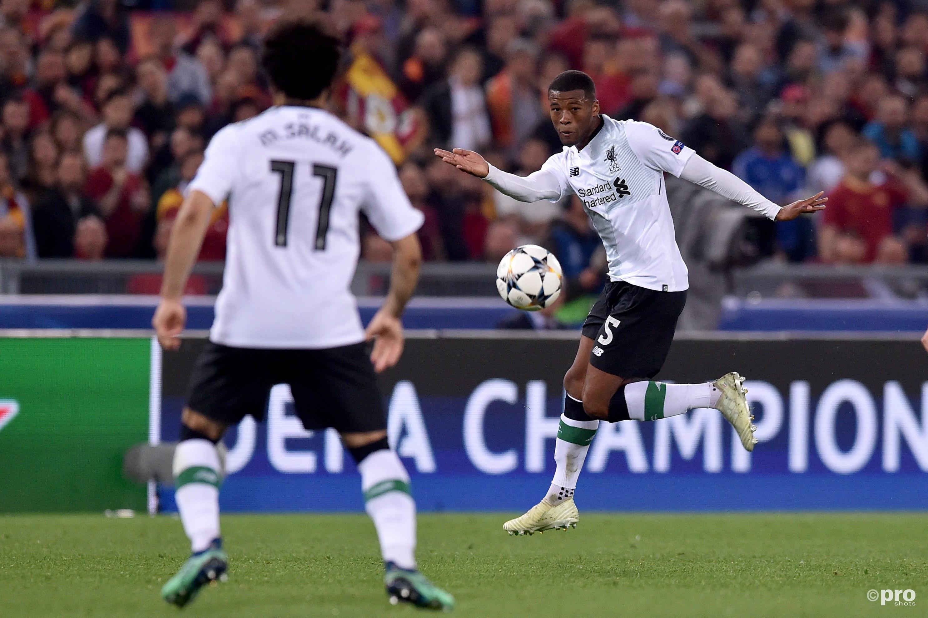 Wijnaldum naar de finale met Liverpool. (PRO SHOTS/Insidefoto)
