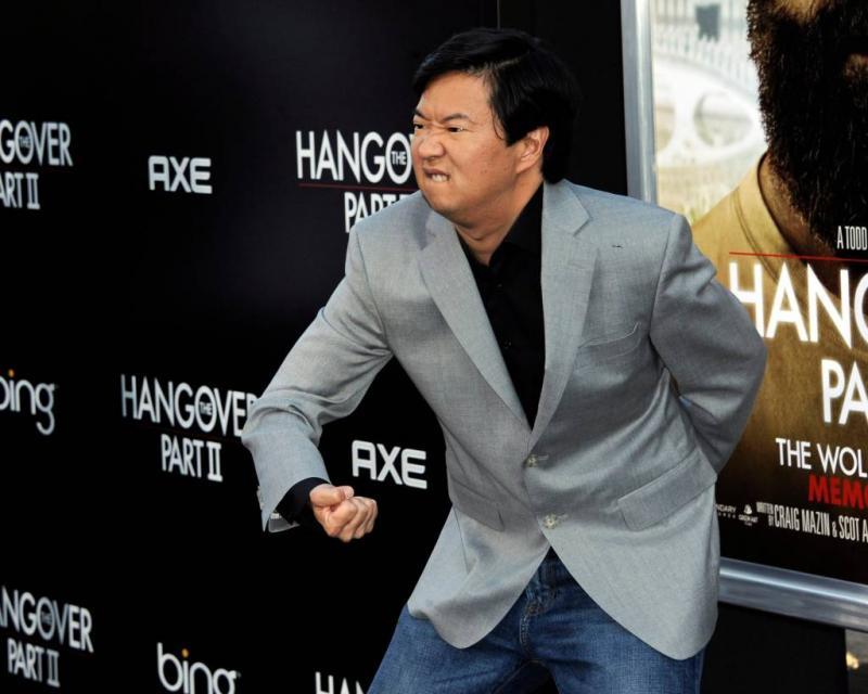 Hangover-acteur helpt vrouw met beroerte