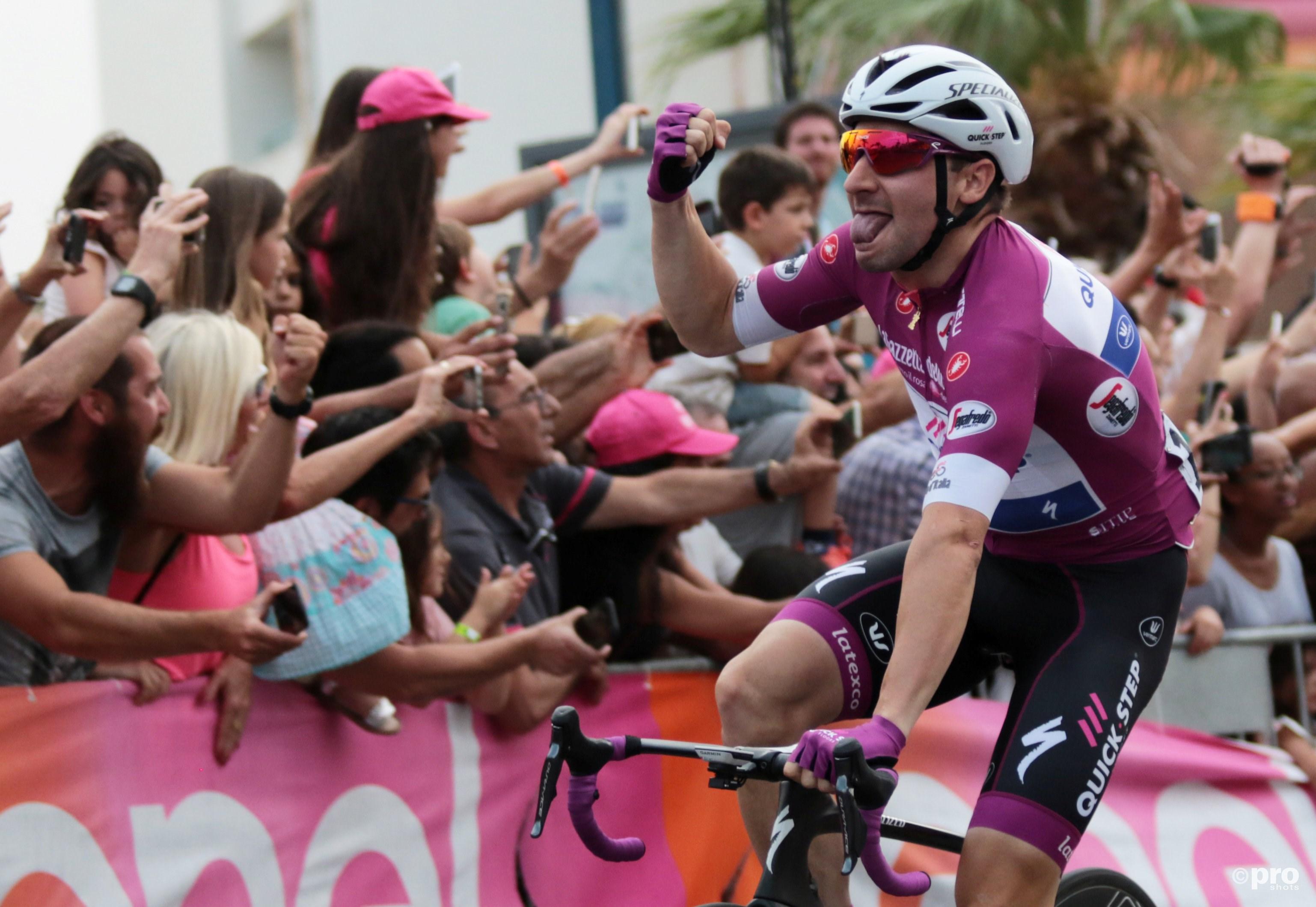 Viviani na winst in derde etappe Giro d'Italia (Pro Shots / Action Images)