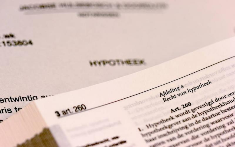 'Hypotheekakte het meest onleesbare document'