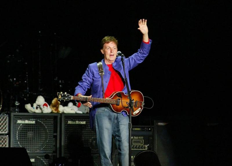 Paul McCartney meest rijke Britse artiest