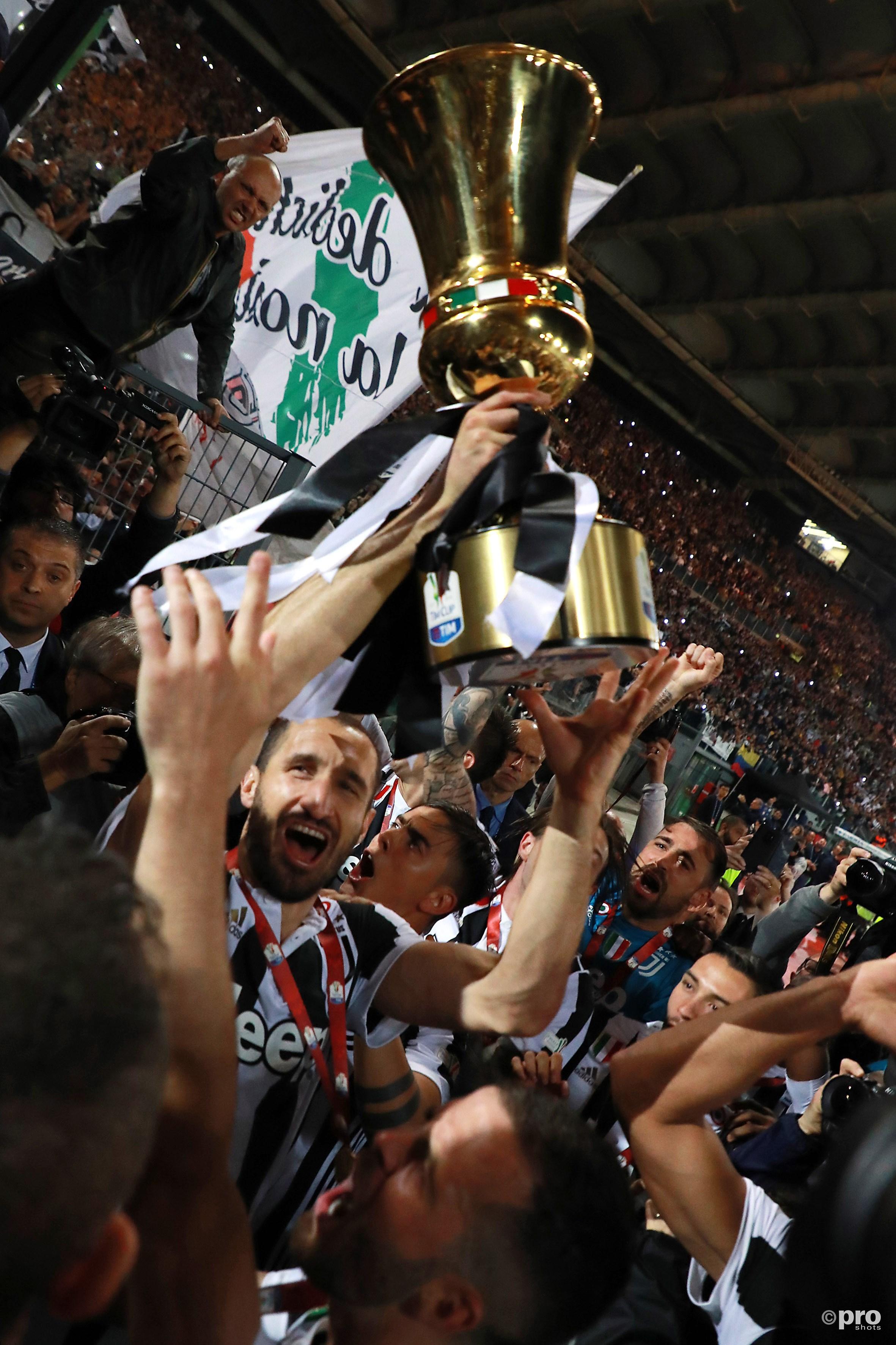 Juve wint de Coppa. (PRO SHOTS/Insidefoto)