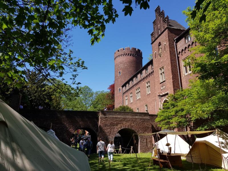 Lekker weertje daar bij dat kasteel in Kempen (D) (Foto: Spylacopa_68)
