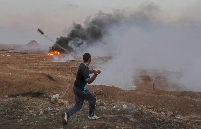 Israël bestookt doelen in Gaza
