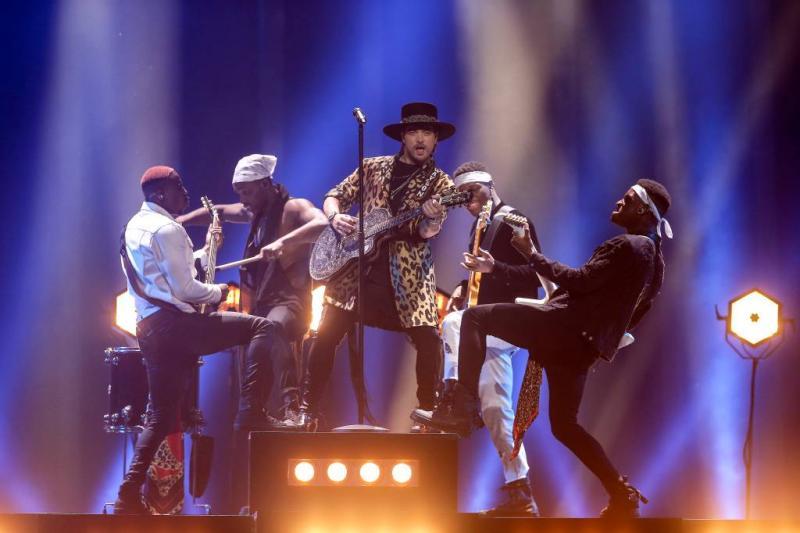 Israël wint Songfestival, Waylon achttiende