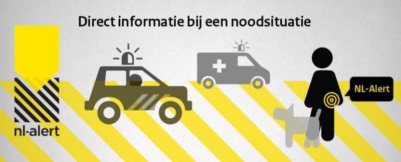 Landelijke publiekscampagne NL-Alert van start (Foto: Ministerie van Justitie en Veiligheid)
