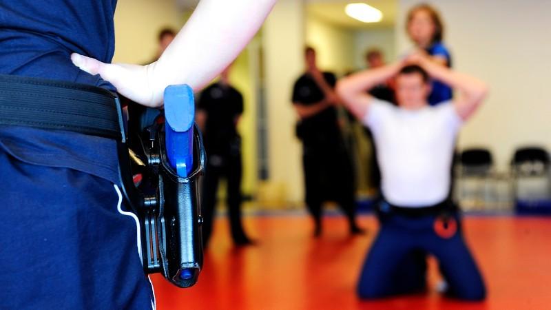 Politie traint steeds praktijkgerichter (Foto: stockfoto politie.nl)
