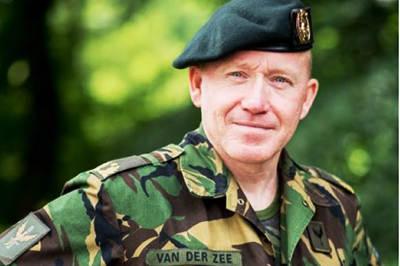 Generaal-majoor Van der Zee (Foto: Ministerie van Defensie)