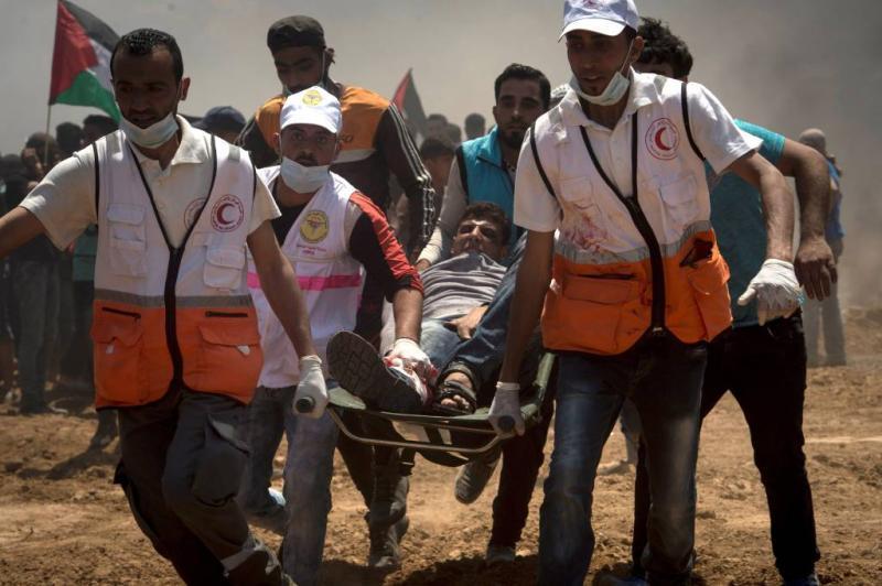 Betogingen Gaza lopen uit op bloedbad