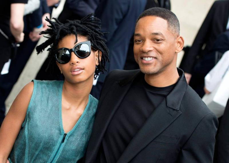 Willow Smith wilde polsen doorsnijden