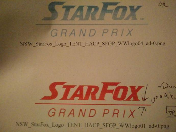 Star Fox Grand Prix intern logo