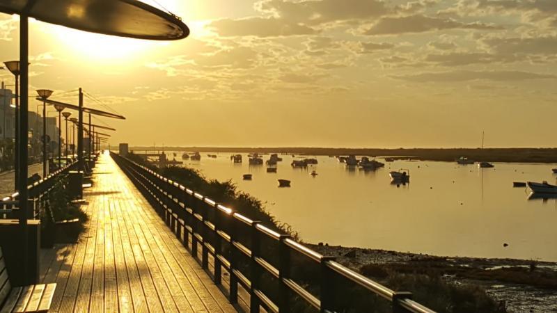 Iteejer is in Cabanas in Portugal. Ook daar is het mooi weer. (Foto: Iteejer)
