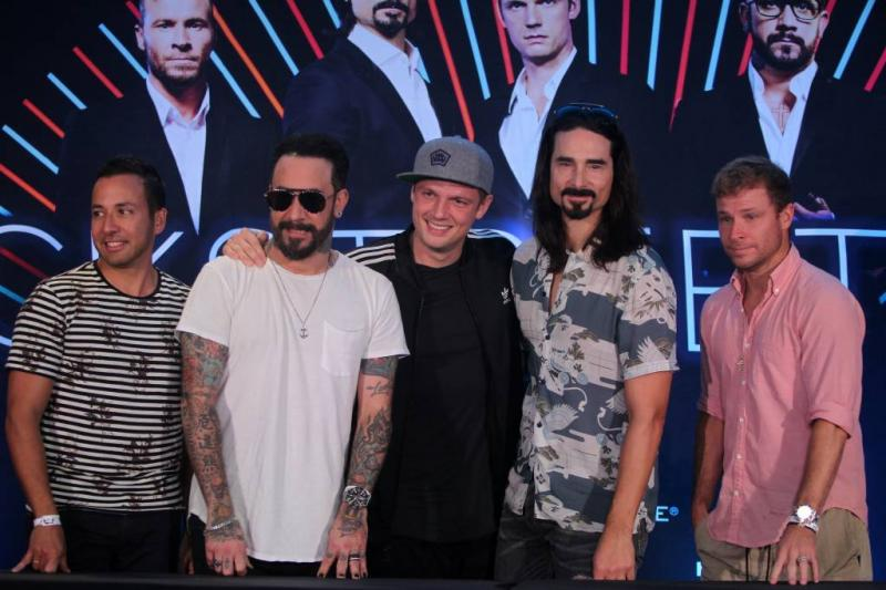 Gegniffel om nieuwe videoclip Backstreet Boys