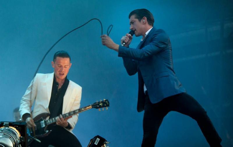 Album Arctic Monkeys binnen op eerste plek
