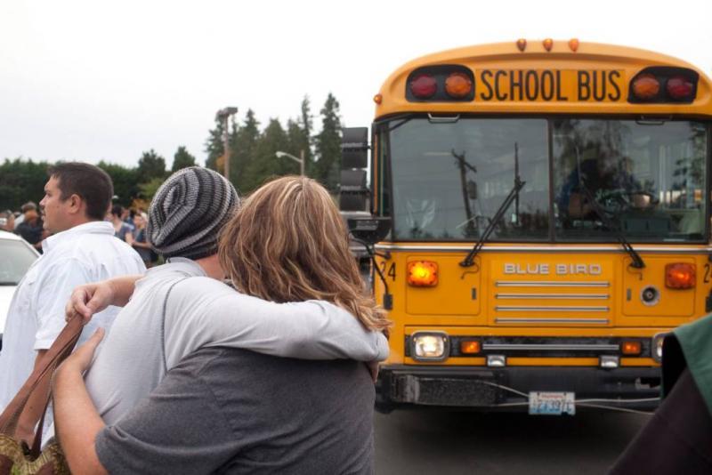 'Meerdere doden door schietpartij school VS'