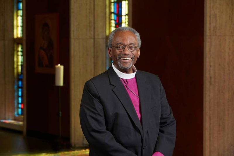 Bisschop Curry imponeert met preek over liefde