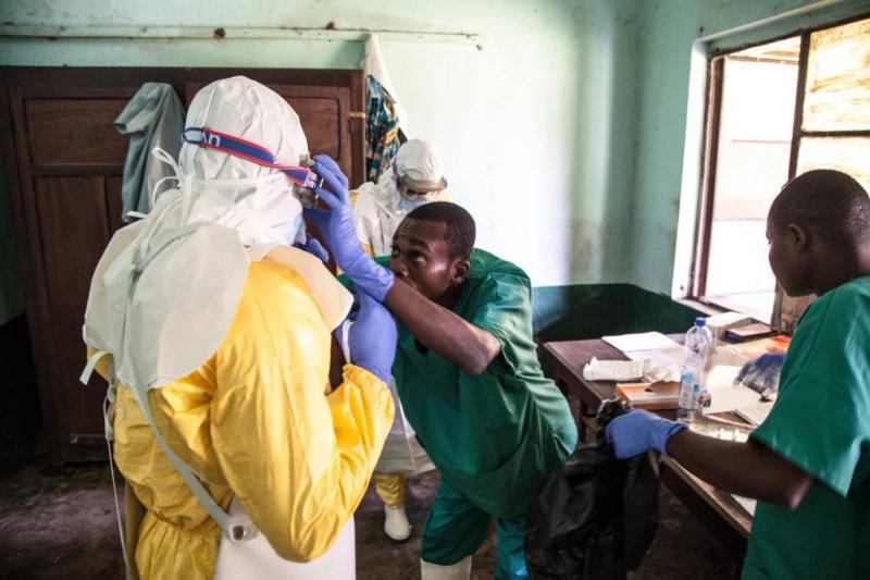 Nieuwe gevallen van ebola in stad Mbandaka