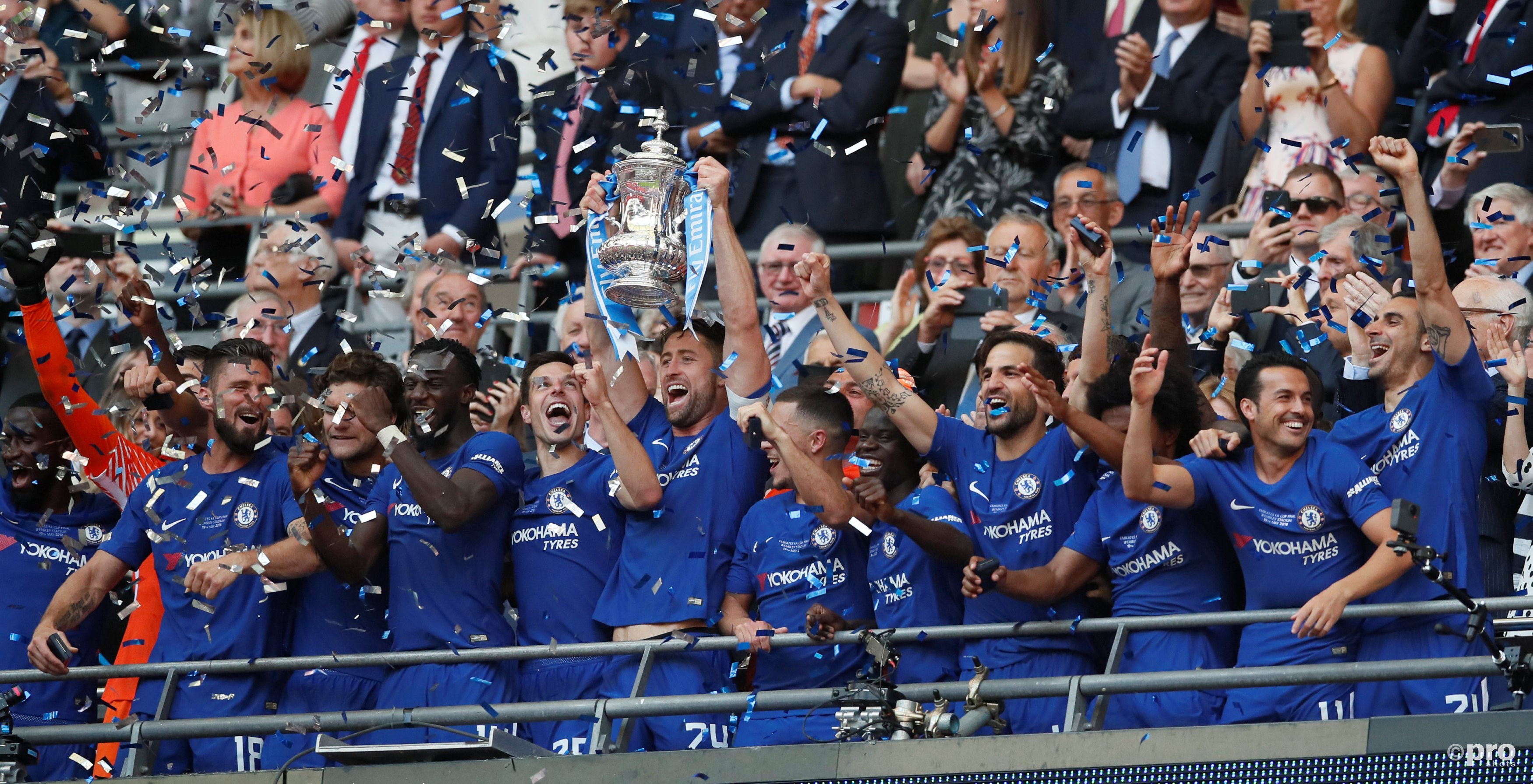 Chelsea wint FA Cup. (PRO SHOTS/Action Images)
