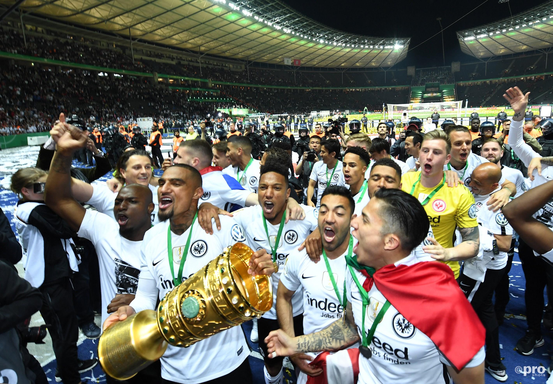 Eintracht Frankfurt wint de DFB Pokal. (PRO SHOTS/Witters)