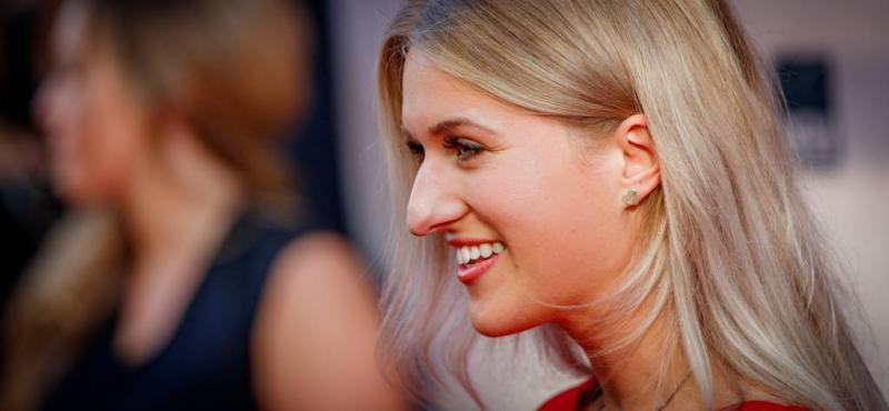 Britt Dekker lichtgewond na race op Zandvoort