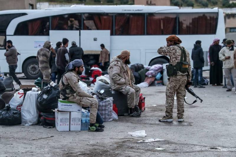 IS-strijders verlaten bolwerk bij Damascus