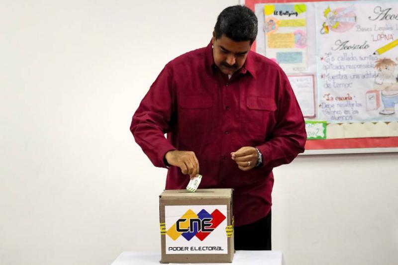 Nicolás Maduro blijft president Venezuela