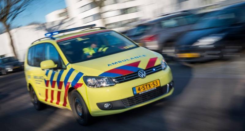 Motorrijder omgekomen door frontale botsing