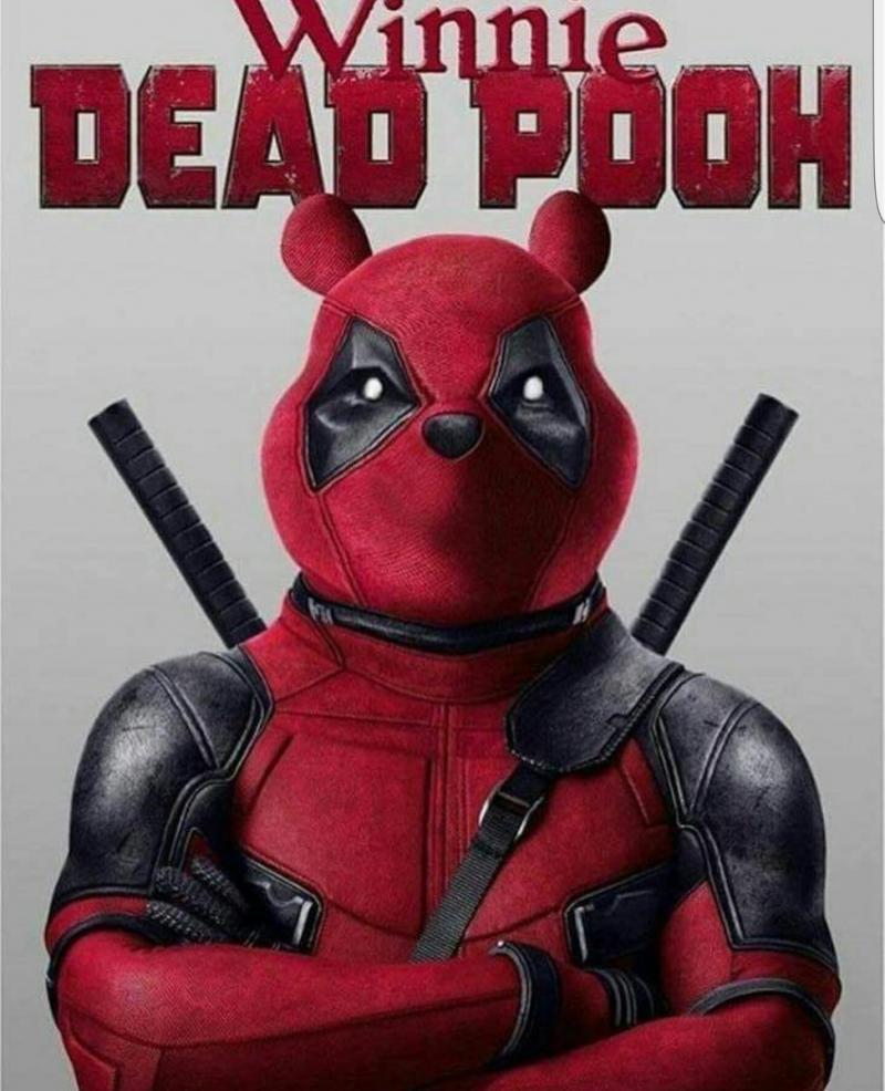 Hahahahahahahaaaaaaaa.... nee helaas. Deadpool is beschermd. Winnie de Pooh is beschermd, én het gebruikte lettertype is beschermd...