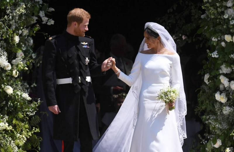 James Corden: bloemen Harry en Meghan ramp