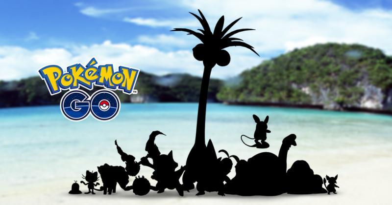 Alolan Pokémon Pokémon GO