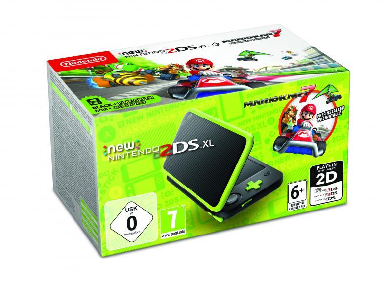 Nintendo 2DS XL-bundel (Mario Kart 7) (Foto: Nintendo)