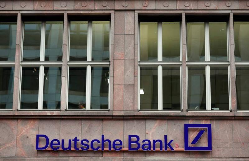 'Mogelijk 10.000 banen weg bij Deutsche Bank'
