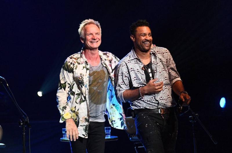 Sting neemt Shaggy mee naar Soestdijk