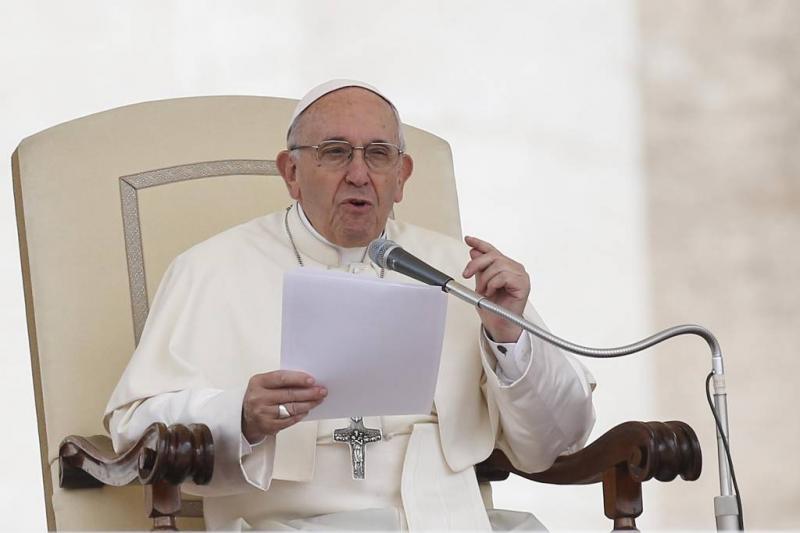 Paus wil geen homo's in priesteropleiding