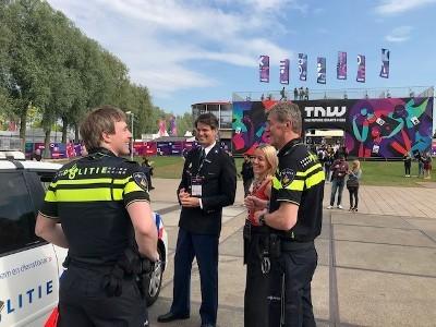 Politie op Europa's grootste tech-beurs (Foto: politie.nl)
