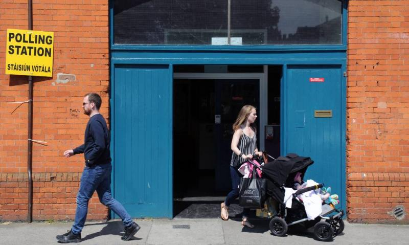 'Ieren stemmen voor liberalisering abortuswet'