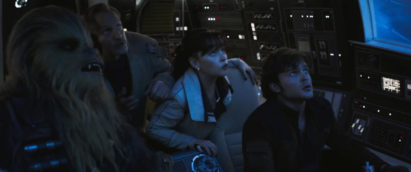 Solo: A Star Wars Story cockpit cast