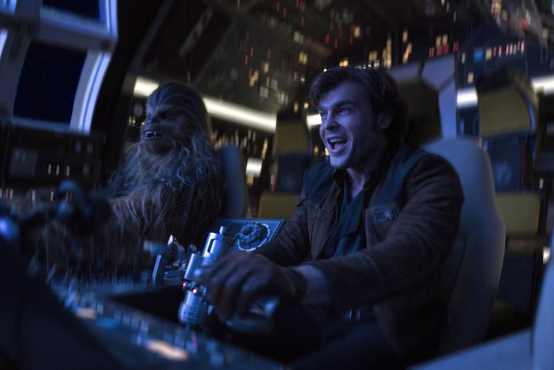 Solo: A Star Wars Story cockpit