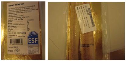 Terugroepactie Klooster palingfilet wegens mogelijke Listeria-bacterie (Foto: Vishandel Klooster BV)