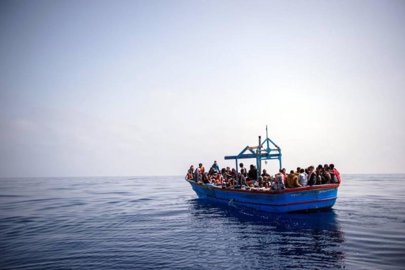 Spanje haalt bijna 600 migranten uit zee