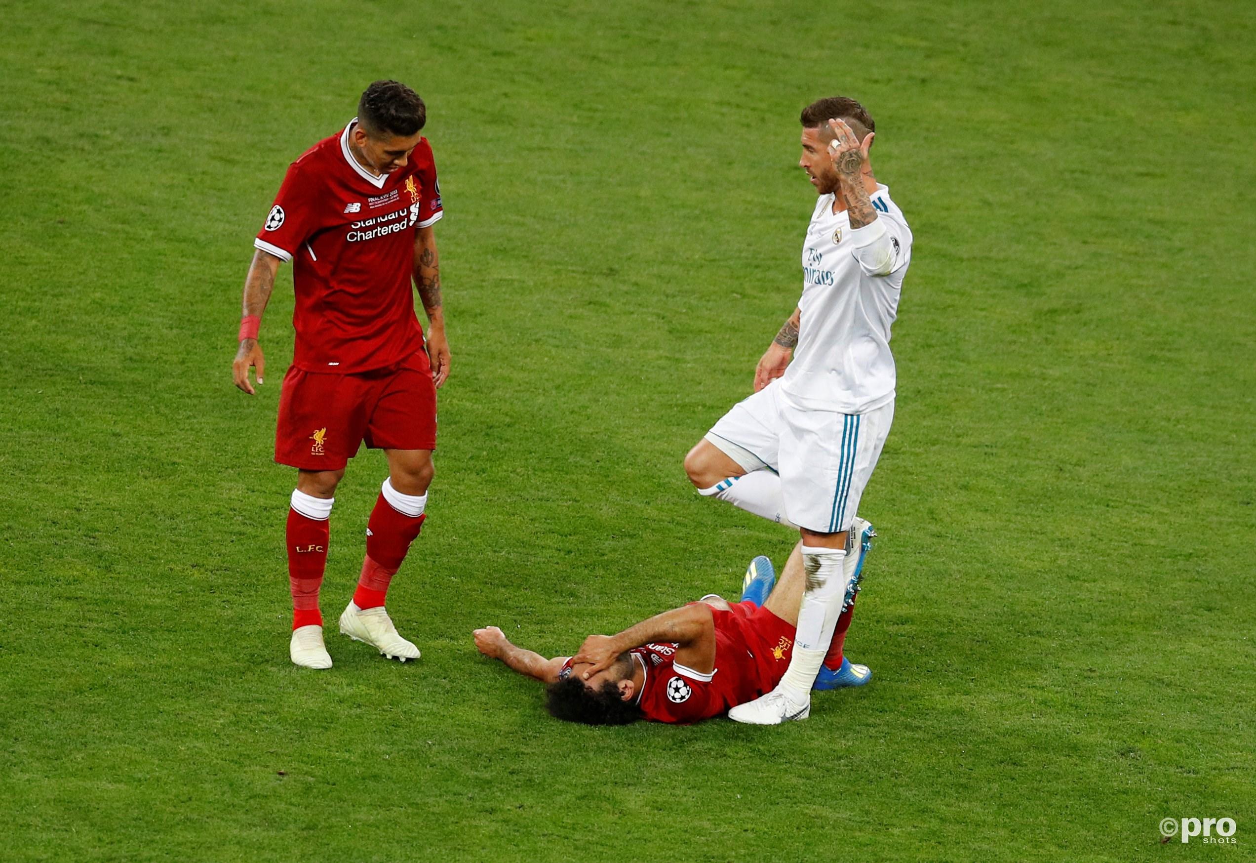 Ramos verkleint de WK-kansen van Salah. (PRO SHOTS/Action Images)