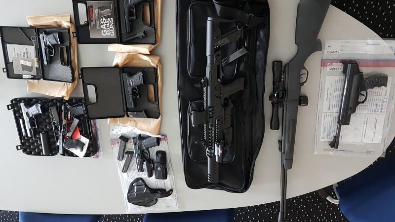 Verdachte van wapenhandel aangehouden (Foto: Politie.nl)