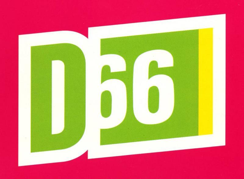 D66-leden in protest tegen einde referendum