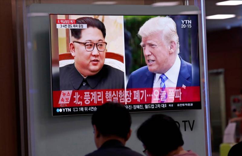 Trump ontmoet Kim 12 juni in Singapore