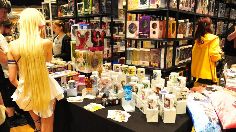 Animecon Dealer Room (Foto: Kees Stravers)