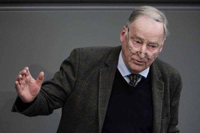 AfD-chef: naziperiode was 'stukje vogelpoep'