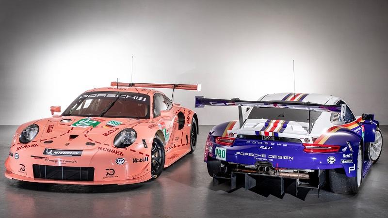 2018 24 uren van Le Mans Porsche 911 RSR