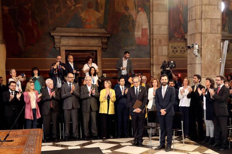 Nieuwe Catalaanse regering aan de slag