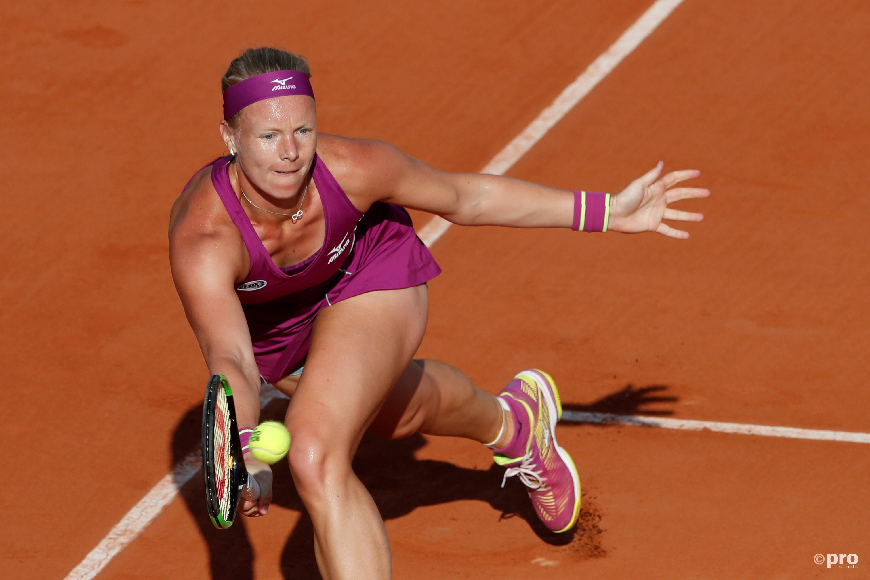 Bertens verliest van Kerber. (PRO SHOTS/Action Images)