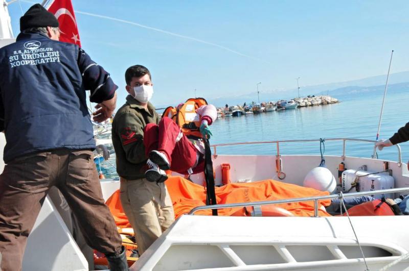 Vluchtelingen verdrinken voor Turkse kust